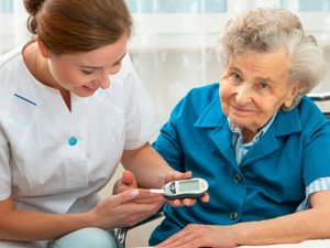 Diabetes treatment and nurses